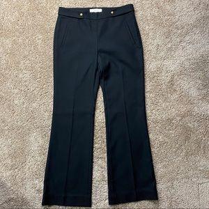 Ann Taylor LOFT Kate High Waist Wide Dress Pants 6